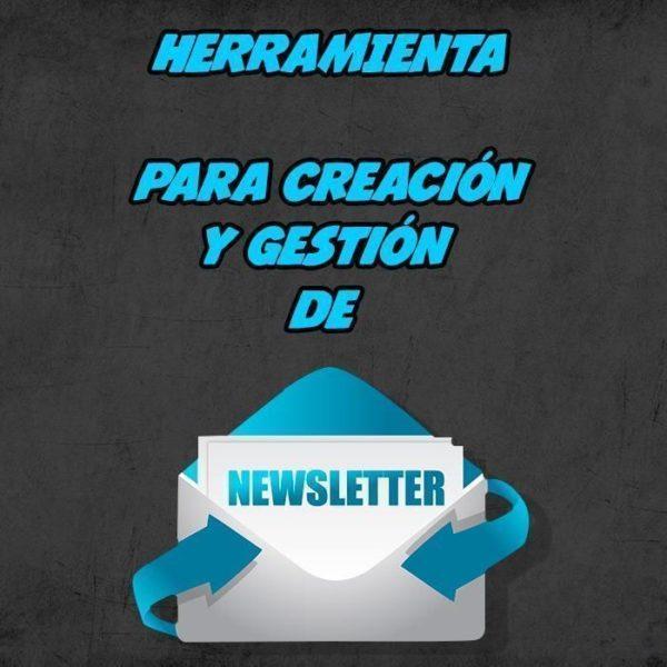herramienta de creación y gestion de newsletters