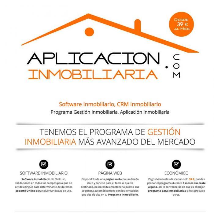 Página web aplicación inmobiliaria