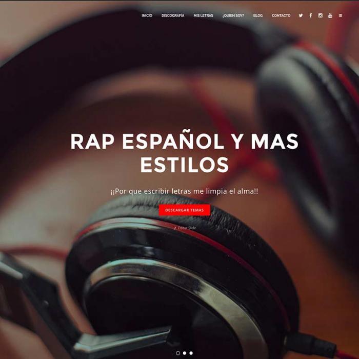 página web franlopezmusic.com