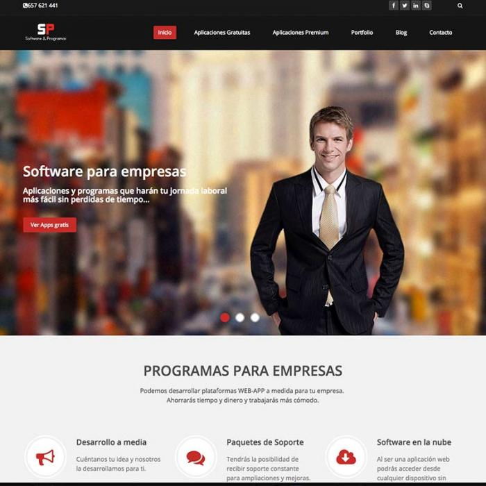 Página web softwareprogramas