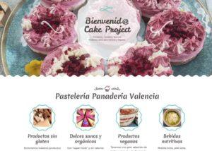 Web cake project