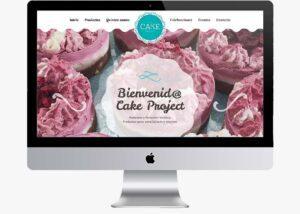 cakeproject diseno web
