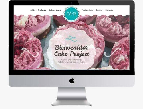 Página web Cakeproject