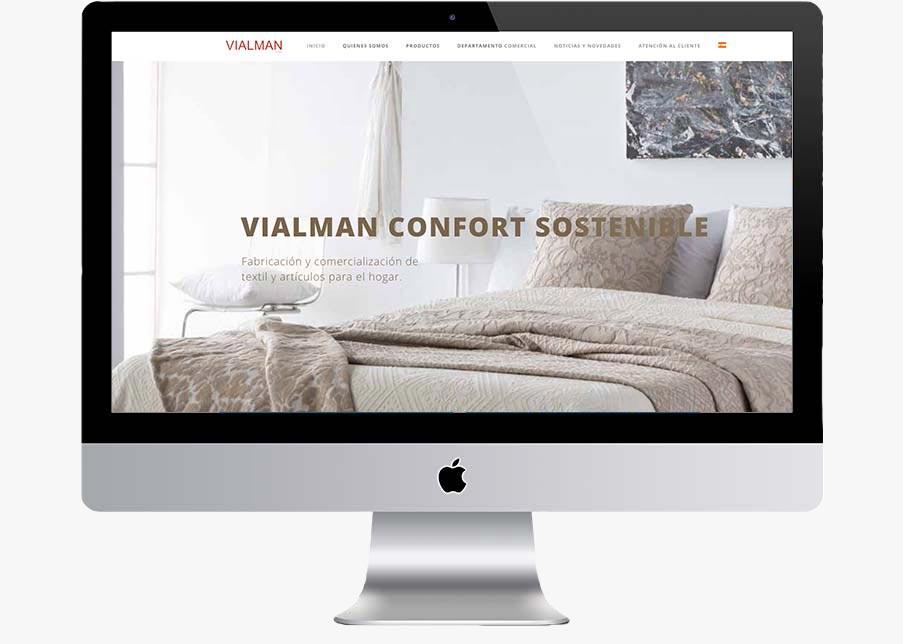 diseño web vialman