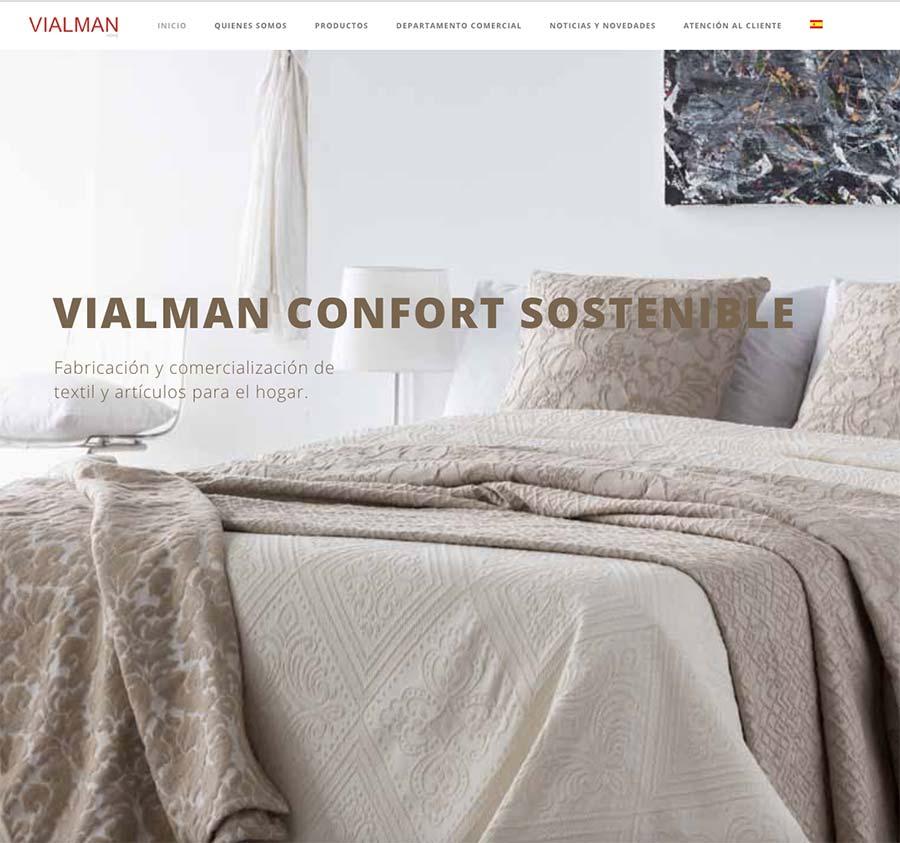 pagina web vialman