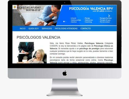 Página web Psicología Valencia