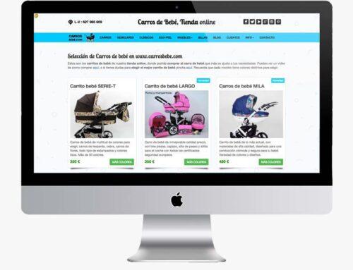 Tienda online desarrollo a medida