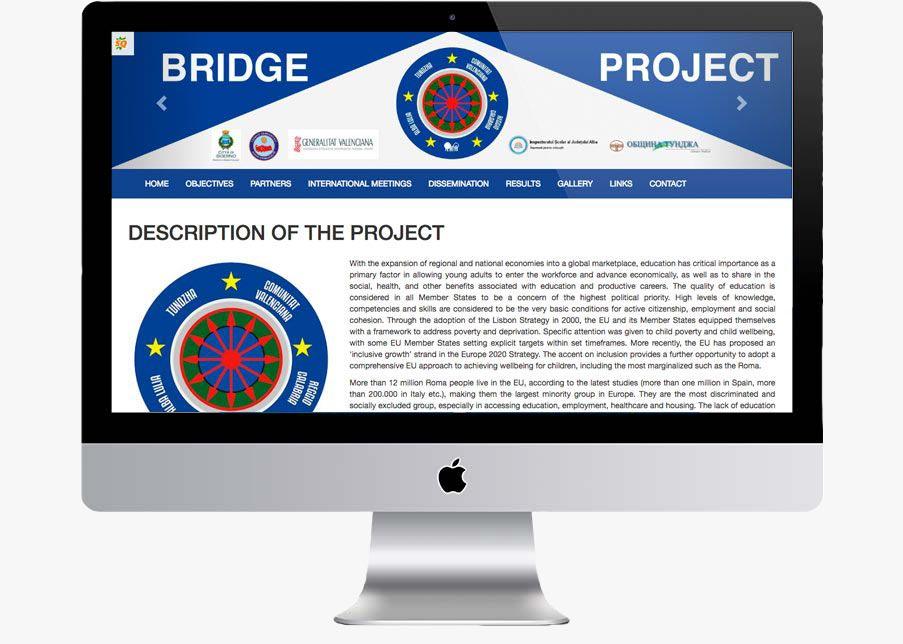 web para consellería de educación bridge between cultures