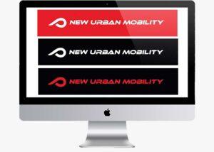logotipo corporativo new urban